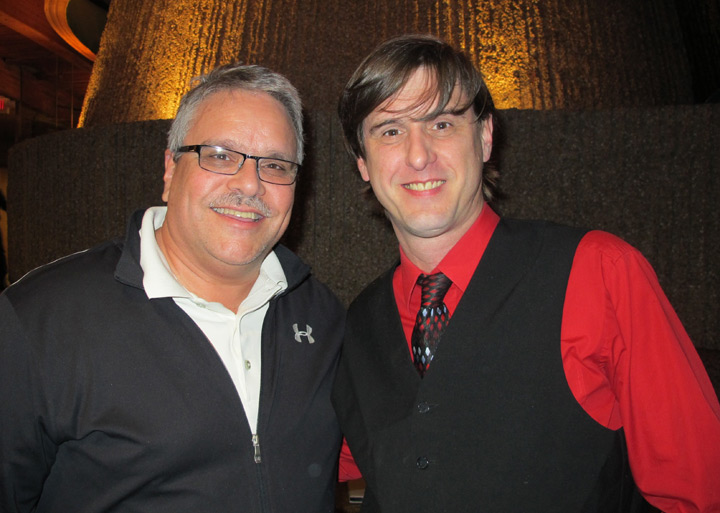 Smith with Percussionist Will Doty